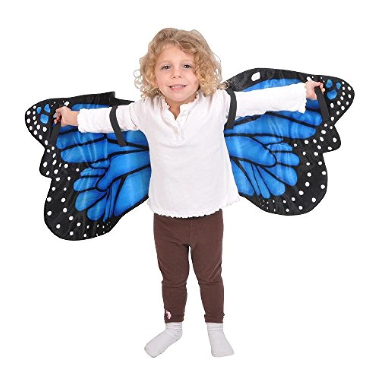 Blue Butterfly Wings 青い蝶の羽?ハロウィン?クリスマス?One size