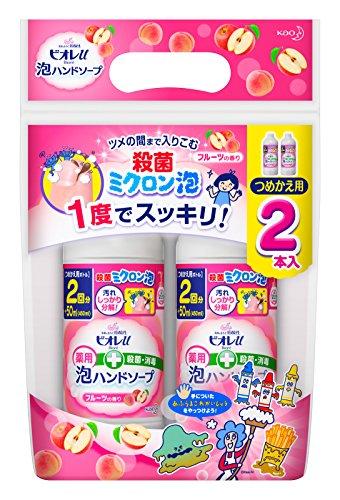 ビオレu 泡ハンドソープ フルーツの香り つめかえ用(450mL*2コ入)