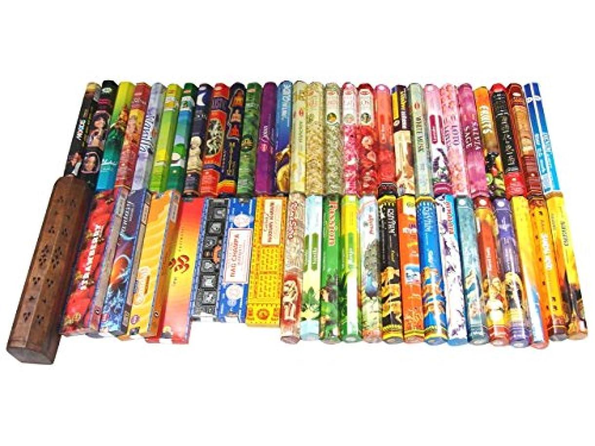 受け入れ流暢印刷する本気のお香好きの為のヘキサボックス50箱セット
