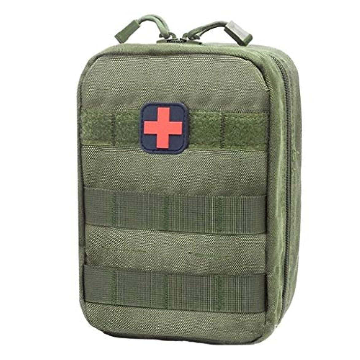 放棄された勤勉な救急車Yxsd 応急処置キット 旅行医療バッグ緊急キット屋外多機能救急箱収納袋アタッチメントウエストパック