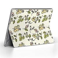 Surface go 専用スキンシール サーフェス go ノートブック ノートパソコン カバー ケース フィルム ステッカー アクセサリー 保護 フラワー 花 フラワー 006680