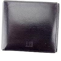 [ダンヒル] dunhill 二つ折り 札入れ 二つ折り 財布 レディース メンズ 可 中古 T6022