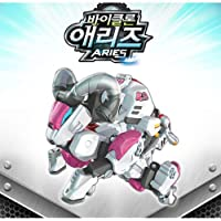 BIKLONZ ARIES Transformer Robot Figure Toy Set Korean Animation YT14003