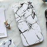 (リリレナ)LiLiRena モノトーン シンプル マーブル 大理石柄 スマホケース iPhone6s iPhone6 iPhone6Plus ケース iphone6sケース カバー iPhone 6s アイフォン6 ip160711(ホワイト,iPhone6 / 6s)