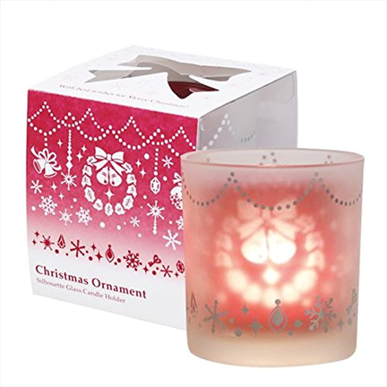 塗抹四面体影響力のあるカメヤマキャンドル(kameyama candle) クリスマスオーナメント