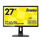iiyama ディスプレイ モニター XUB2790HS-B1 27インチ/フルHD/スリムベゼル/HDMI端子付