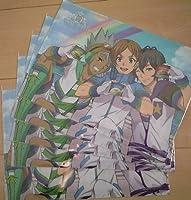KING OF PRISM PRIDE the HERO 森永 & イオン限定 キンプリ オリジナルA4クリアファイル 5枚セット