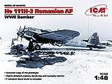 ICM 1/48 第二次世界大戦 ルーマニア空軍 ハインケル He111H-3 プラモデル 48266