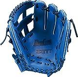 ZETT(ゼット) ソフトボール オールラウンド グラブ(グローブ) デュアルキャッチ (左投げ用) BSGB53610 ブルー
