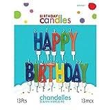 Happy Birthday Letter Candles 誕生日おめでとうの手紙の蝋燭♪ハロウィン♪クリスマス♪