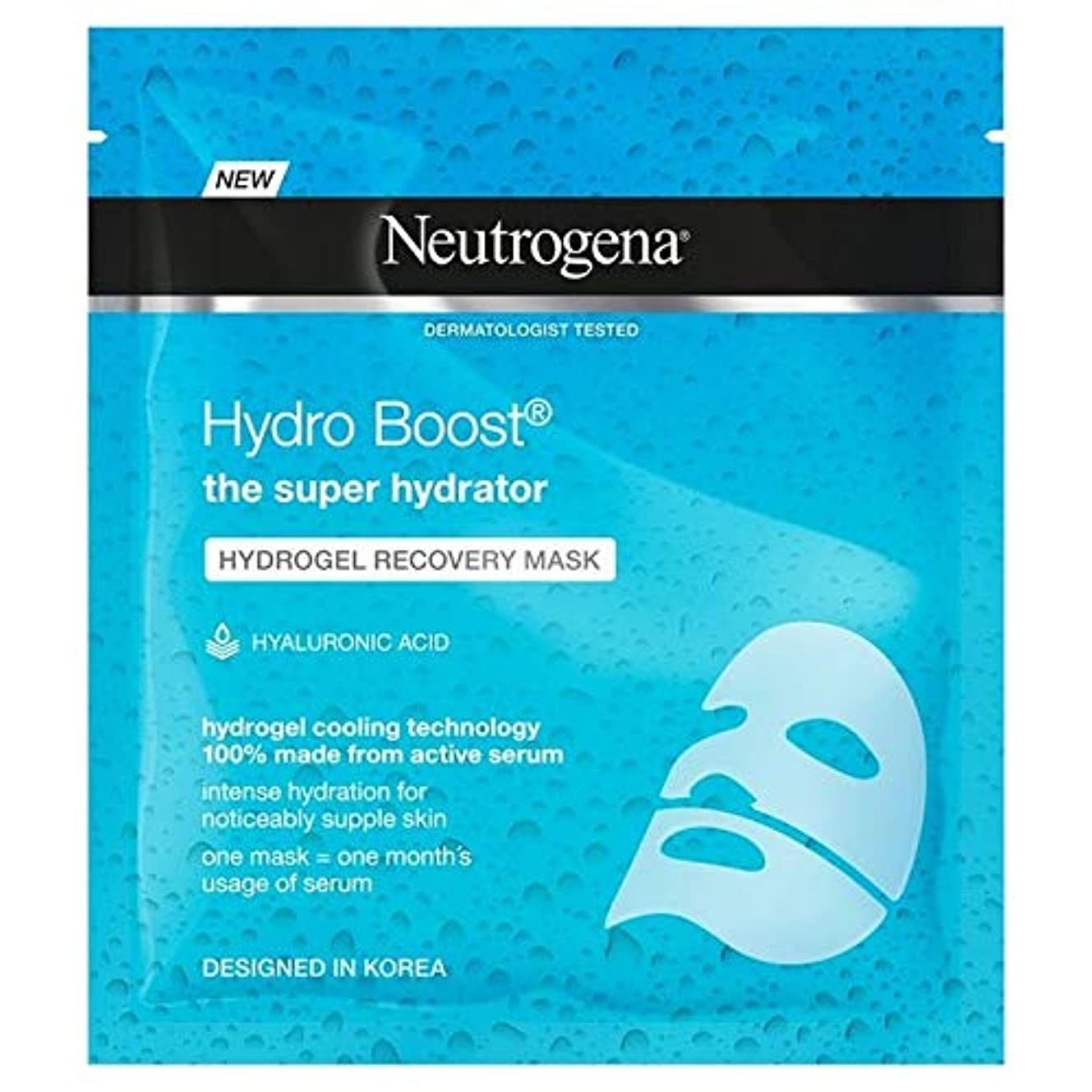 成功シミュレートする彼の[Neutrogena] ニュートロジーナ水力発電はハイドロゲルマスク30ミリリットルを後押し - Neutrogena Hydro Boost Hydrogel Mask 30ml [並行輸入品]