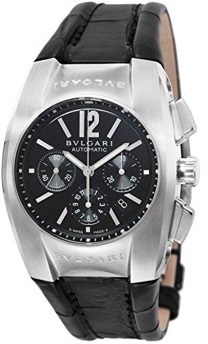 [ブルガリ]BVLGARI 腕時計 エルゴン ブラック文字盤 EG35BSLDCH メンズ 【並行輸入品】