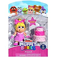 "MISS PIGGY Muppet Babies Poseable Action Figure 2.5"" [並行輸入品]"