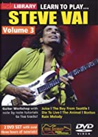Learn to Play - Steve Vai [Import anglais]