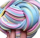 Reedoo おもちゃ 粘土 硼砂スラッジ 超軽量粘土非毒性 ふわふわ スライムの香りのストレス ゴム泥クリエイティブ おもちゃ 安全無害 香りつき 簡単に保存スペース 教育玩具 ゴム泥DIY おもしろい 減圧 (アイスクリームミックスカラー)