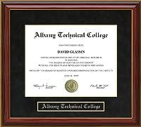 Albany Technical College ( ATC )卒業証書フレーム ga-atc-91-maho