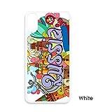 聖バジルの大聖堂のレーニン霊廟のロシアの落書き iphoneケースホワイトx phonecaseアップルカバーケースの贈り物のために