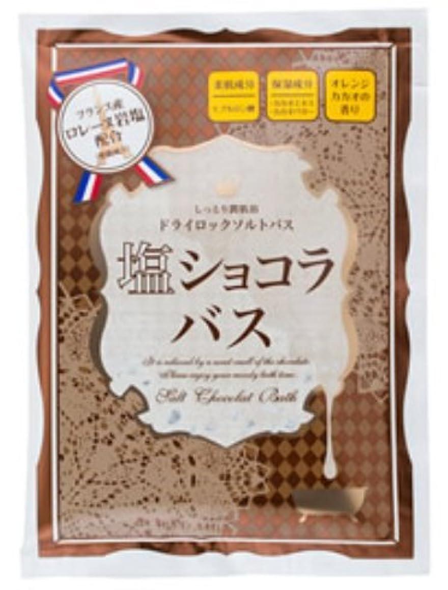 ミシン目代表して受け入れる塩ショコラバス