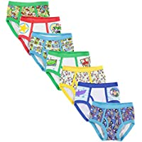 Toy Story Handcraft Little Boys 7 Pack Brief, Multi