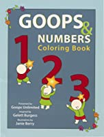 Goops & Numbers Coloring Book