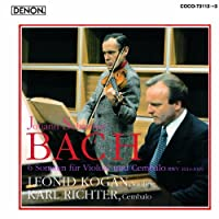 J. S. Bach: 6 Sonaten Fur Violine Und by Leonid Kogan (2010-08-18)