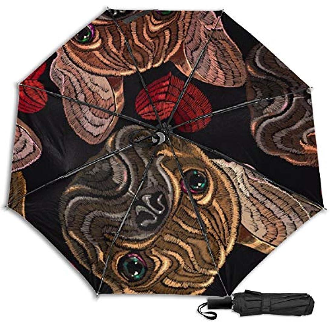 フォームランタン成功したハートパグ日傘 折りたたみ日傘 折り畳み日傘 超軽量 遮光率100% UVカット率99.9% UPF50+ 紫外線対策 遮熱効果 晴雨兼用 携帯便利 耐風撥水 手動 男女兼用