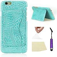 シェル の iPhone 6 / 6S 4.7 inch, Happon ニッポン Man 設計, ユニーク & 保護 シェル, プレミアム Man 材料, スクラッチ耐性. の iPhone 6 / 6S 4.7 inch -Sky-blue