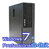 中古デスクトップパソコン DELL Optiplex 9010 【Windows7 Pro 64bit・Core i7・メモリ16GB・新品SSD・Radeon】