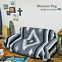 RUG&PIECE Native Mexican Rug ネイティブ柄 メキシカンラグ 200cm×120cm (rug-6669)