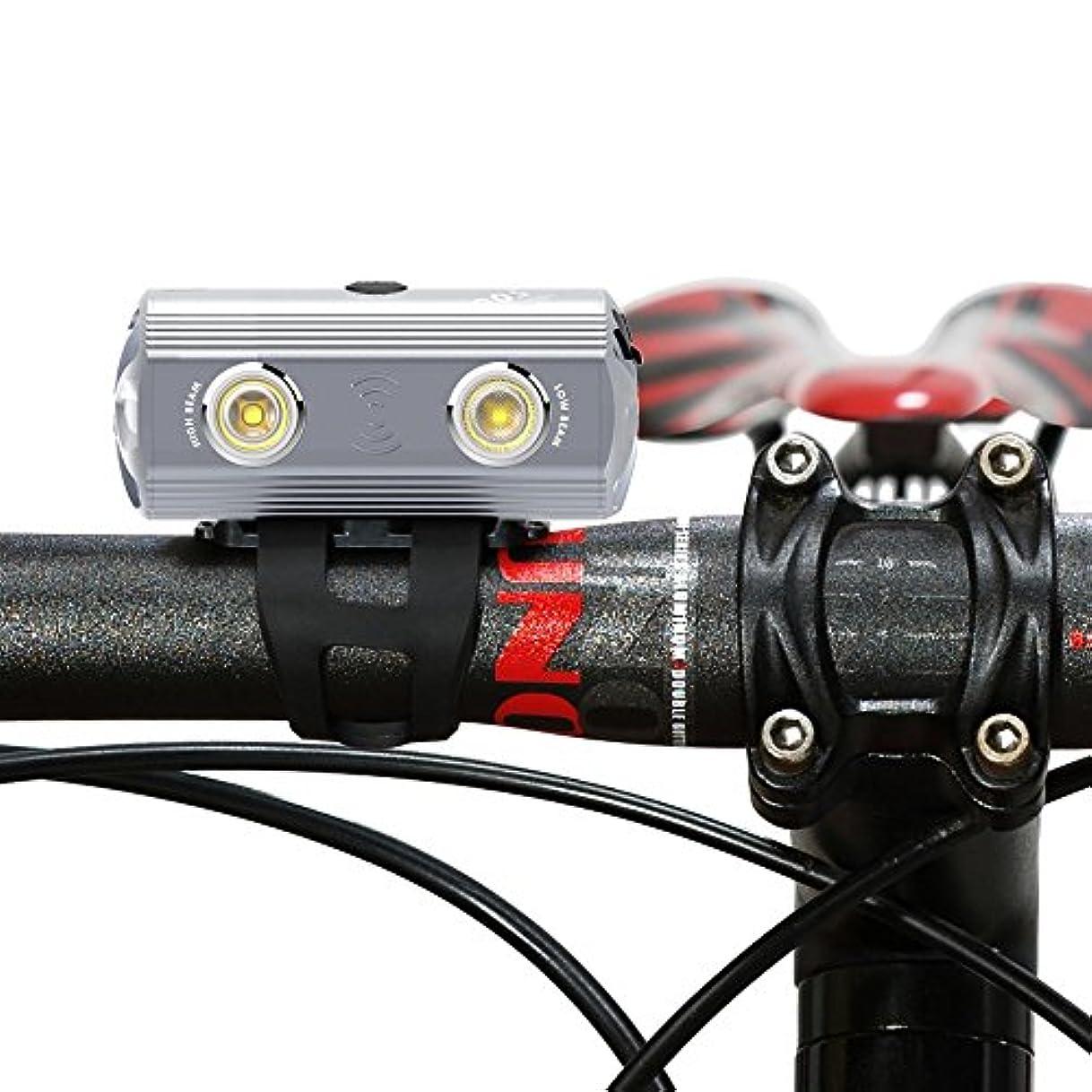 バン分一般的に言えばVOLO URBANEON 500 USB充電式アルミ合金自転車のライト、450ルーメン自転車ヘッドライト、マウンテンバイク用、ロードサイクリング用