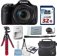 Canon PowerShot sx540HS + 32GB高速メモリカード+ケース+三脚–バンドル