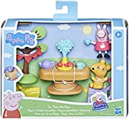 Peppa Pig Peppa's Adventures Tea Time with Peppa Accessory Set Preschool Toy, Peppa Pig Figure and 5 Acces