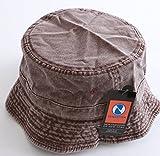 NEWHATTAN ニューハッタン 帽子 バケットハット サファリハット ハット hattan 送料無 ハット hat-nh-09u01 newhattan1505 nht-cbh-ucb hat-nh-09u01 newhattan1505 S/M DARKBROWN.ダークブラウン
