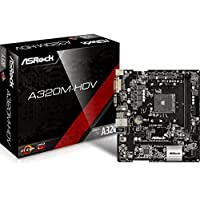 ASRock AMD Ryzen対応A4320チップセット搭載 MicroATXマザーボード A320M-HDV