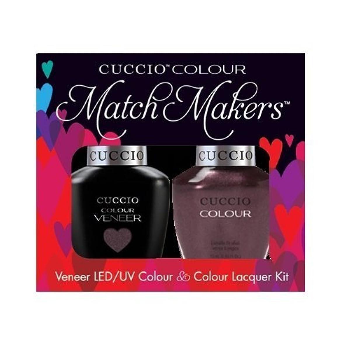 神話後悔勝利したCuccio MatchMakers Veneer & Lacquer - One Night in Bangkok - 0.43oz / 13ml Each