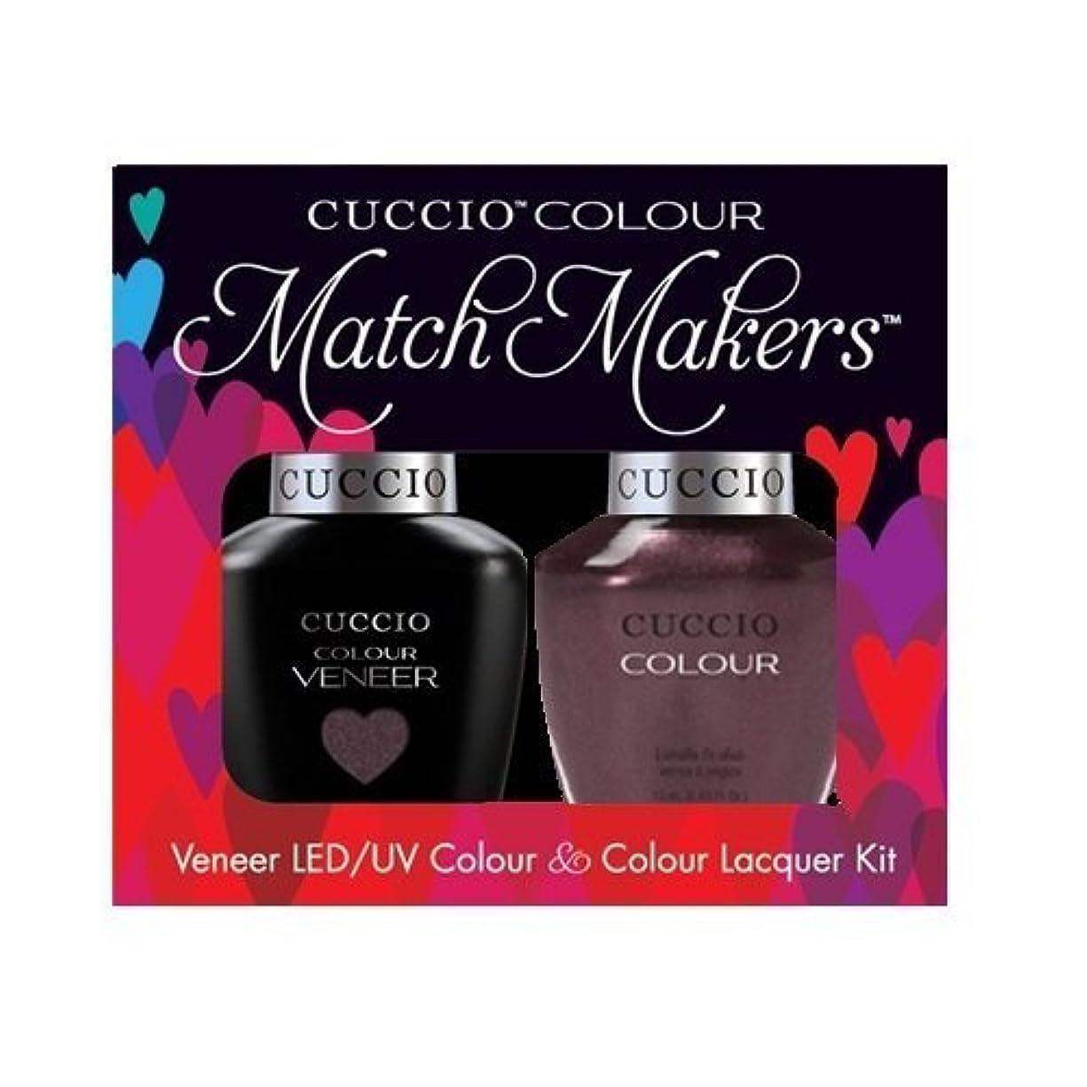 杭によると首尾一貫したCuccio MatchMakers Veneer & Lacquer - One Night in Bangkok - 0.43oz / 13ml Each