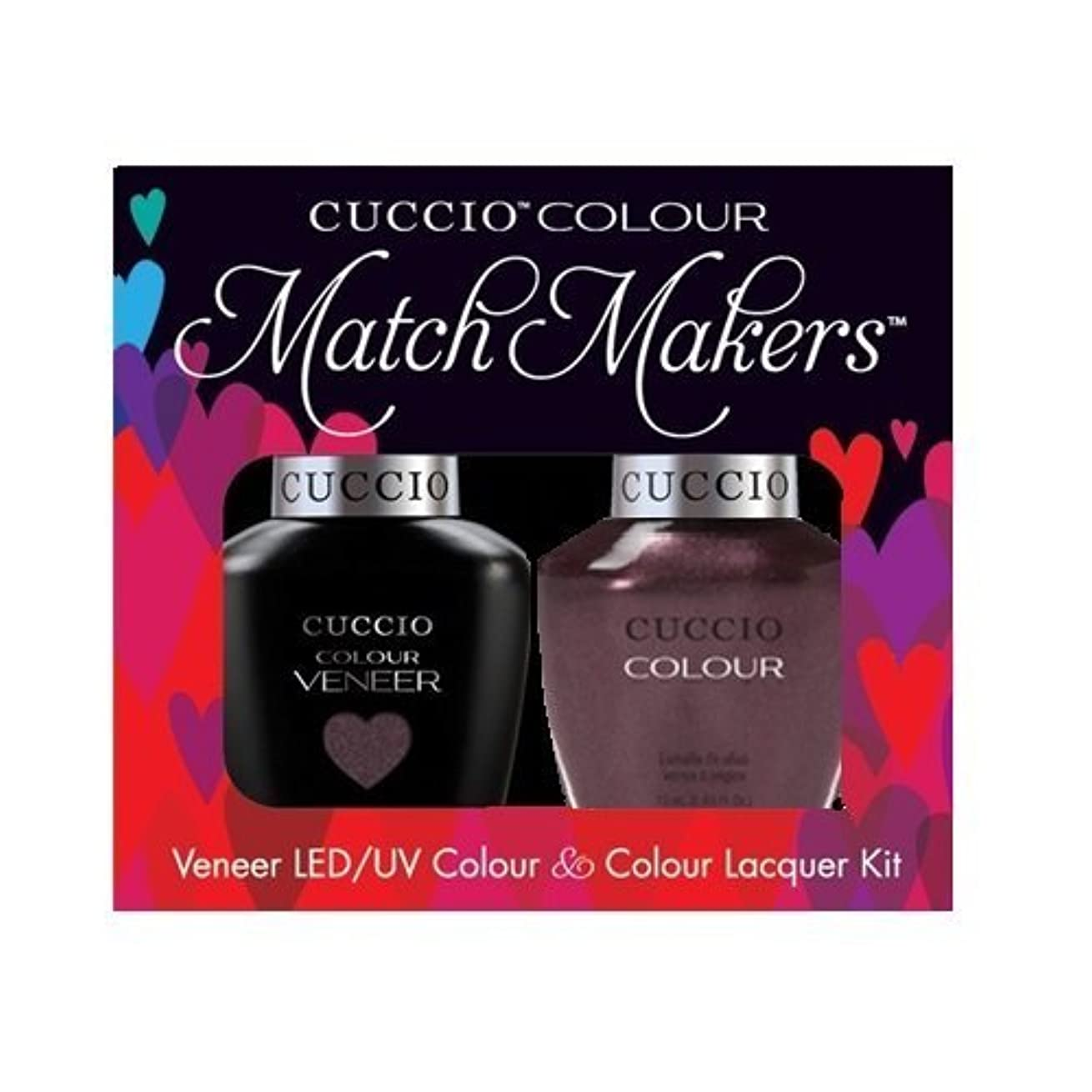 想像力シミュレートする作動するCuccio MatchMakers Veneer & Lacquer - One Night in Bangkok - 0.43oz / 13ml Each