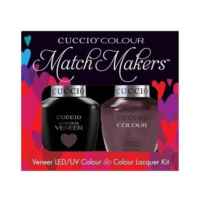 一掃するこっそり希望に満ちたCuccio MatchMakers Veneer & Lacquer - One Night in Bangkok - 0.43oz / 13ml Each