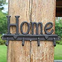 LRW ヨーロッパとアメリカのフック、アンティークの鋳鉄手工芸品、鉄の作品、壁掛け、壁の装飾、ホーム装飾フック