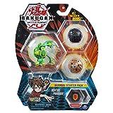 Bakugan スターターパック 3パック Ventus Pandox コレクターアクションフィギュア 6歳以上