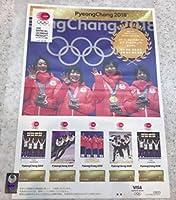 平昌 2018 冬季 オリンピック 日本代表選手 メダリスト 公式 フレーム切手 スピードスケート 女子 チームパシュート