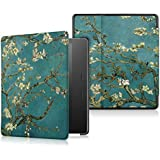 Acphtab Case for Amazon Kindle Oasis 3 2019 Release E-Reader, Premium Ultra Slim Lightweight Shell Stand Cover Smart Case with Auto Wake/Sleep for 7 Inch Kindle Oasis 3 2019, Flowers