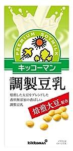 キッコーマン 焙煎大豆調製豆乳 1000ml×6本