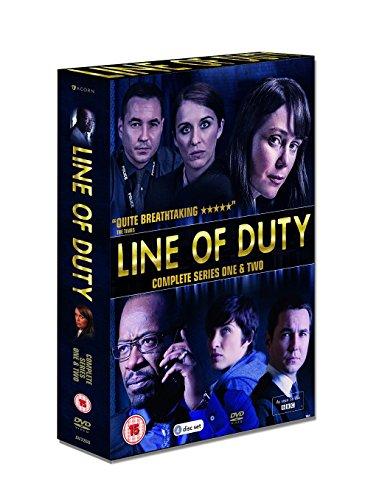 Line Of Duty: Series 1 & 2 / ライン・オブ・デューティー シリーズ1 & 2 (英語のみ) [PAL-UK] [DVD][Import]