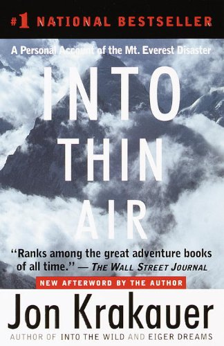 Into Thin Air: A Personal Account of the Mt. Everest Disasterの詳細を見る