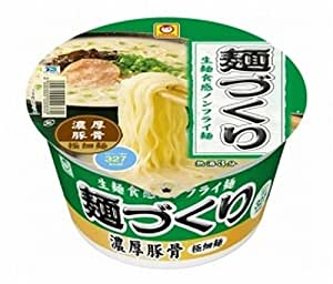 マルちゃん 麺づくり 濃厚豚骨 88g×12個
