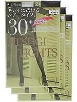 (アツギ)ATSUGI アツギタイツ 30デニール <2足組3セット>