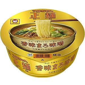 マルちゃん マルちゃん正麺 カップ 香味まろ味噌 121g