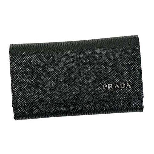 PRADA プラダ PORTAFOGLIO キーケース ブラック F0G52 [並行輸入品]