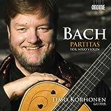 J.S. バッハ:無伴奏ヴァイオリン・パルティータ第1番 - 第3番(ギター編)